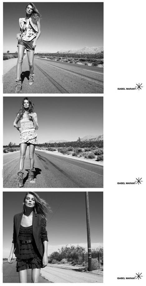 isabel marant s/s 09 campaign